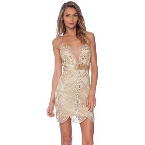 NWT! Revolve Raga Sequin Embellished Mini Dress-S
